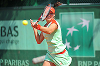 PICTURE BY DAVE WINTER/SWPIX.COM - Tennis - French Open 2012 - Roland Garros, Paris, France - 28/05/12 - Laura ROBSON.