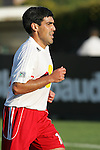 28 March 2007: New York's Claudio Reyna. Toronto FC defeated the New York Red Bulls 2-1 at Blackbaud Stadium in Cary, North Carolina in the 2007 Carolina Challenge Cup.