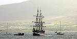 The Jeanie Johnston replica famine ship returns home to Fenit Co. Kerry  following its nine month voyage and trip to the USA and Canadain 2003..Picture: Eamonn Keogh (MacMonagle,Killarney)