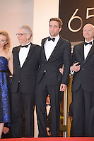 "David Cronenberg and Robert Pattinson attending the ""Cosmopolis"" Premiere during the 65th annual International Cannes Film Festival in Cannes, France, 25.05.2012...Credit: Timm/face to face /MediaPunch Inc. ***FOR USA ONLY***"
