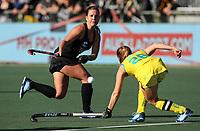 Ella Gunson. Pro League Hockey, Vantage Blacksticks Women v Australia, ANZAC Hockey test. North Harbour Hockey Stadium, Auckland, New Zealand. Thursday 25 April 2019. Photo: Simon Watts/Hockey NZ