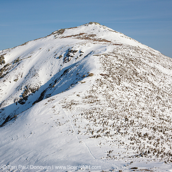 This is the image for March in the 2017 White Mountains New Hampshire calendar. Mount Lafayette from along Franconia Ridge. The calendar can be purchased here: http://bit.ly/220sKru