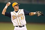 Montgomery Biscuits third baseman Evan Longoria on defense versus the Chattanooga Lookouts at Riverwalk Stadium in Montgomery, AL, Friday, August 18, 2006.