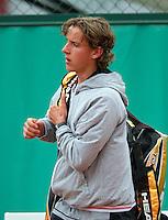 30-05-10, Tennis, France, Paris, Roland Garros, Justin Eleveld