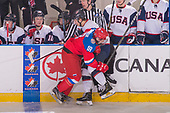 Bonnyville, AB - Dec 15 2018 - Game 14 - Gold - Russia vs. USA during the 2018 World Junior A Challenge at the R.J. Lalonde Arena in Bonnyville, Alberta, Canada (Photo: Matthew Murnaghan/Hockey Canada)