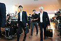 Japan new signing head coach Javier Aguirre arrives in Japan