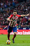 Jorge Resurreccion Merodio, Koke, of Atletico de Madrid in action during the La Liga 2017-18 match between Atletico de Madrid and Girona FC at Wanda Metropolitano on 20 January 2018 in Madrid, Spain. Photo by Diego Gonzalez / Power Sport Images