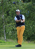Jon Bevan (Sherbome GC) on the 18th tee during Round 1 of the Titleist &amp; Footjoy PGA Professional Championship at Luttrellstown Castle Golf &amp; Country Club on Tuesday 13th June 2017.<br /> Photo: Golffile / Thos Caffrey.<br /> <br /> All photo usage must carry mandatory copyright credit     (&copy; Golffile | Thos Caffrey)