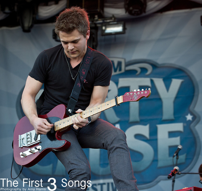 Hunter Hayes performs at the ACM Party for a Cause Festival during The ACM Experience at The Orleans Hotel & Casino on April 6, 2013.