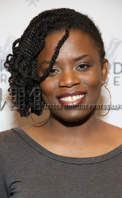 """Antoinette Nwandu attending the Opening Night Performance for The Vineyard Theatre production of  """"Do You Feel Anger?"""" at the Vineyard Theatre on April 2, 2019 in New York City."""