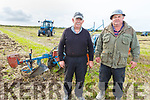 Aeneas and Timmy Horan from Castleisland at the ploughing in Causeway on Sunday.