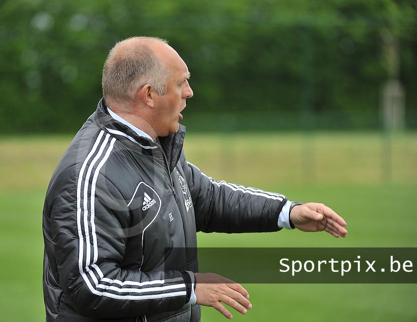 RSC Anderlecht Dames - Ajax Amsterdam : Ed Engelkes.foto DAVID CATRY / Nikonpro.be