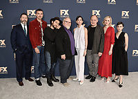 PASADENA, CA - JANUARY 9:  Nick Offerman, Karl Glusman, Jin Ha, Stephen McKinley Henderson, Sonoya Mizuno, Zach Grenier, Alison Pill, and Cailee Spaeny at the 2020 FX Networks TCA Winter Press Tour Star-Walk at the Langham Huntington on January 9, 2020 in Pasadena, California. (Photo by Scott Kirkland/FX Networks/PictureGroup)