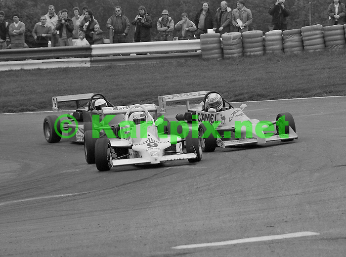 Allan McNish at Mallory Park in 1988