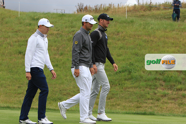 Bernd Wiesberger (AUT) walking down the 3rd during Round 2 of the HNA Open De France  at The Golf National on Friday 30th June 2017.<br /> Photo: Golffile / Thos Caffrey.<br /> <br /> All photo usage must carry mandatory copyright credit      (&copy; Golffile | Thos Caffrey)