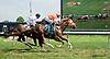 I. E. Flash winning at Delaware Park racetrack on 7/2/14