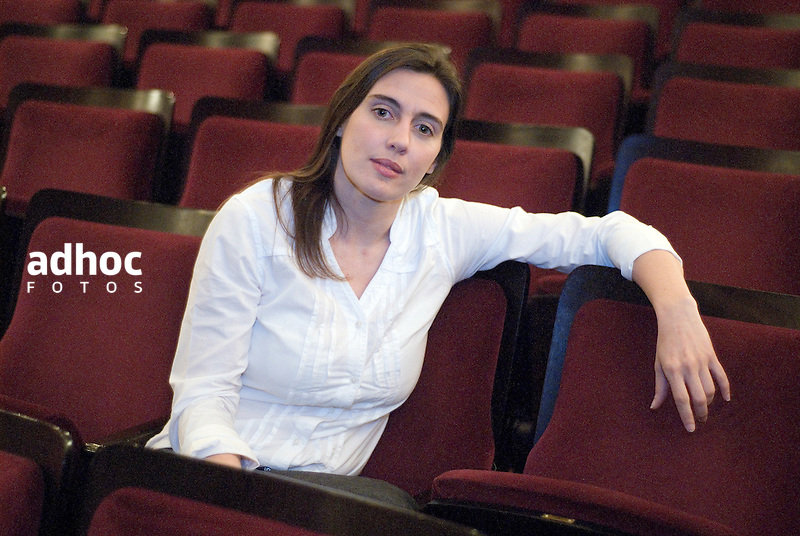 Malena Muyala. Montevideo, 08/11/2007.<br /> URUGUAY / MONTEVIDEO / <br /> Foto: Ricardo Ant&uacute;nez / AdhocFotos<br /> www.adhocfotos.com