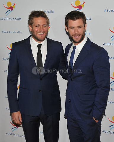 New York,NY-JANUARY 25: Curtis Stone, Chris Hemsworth attend the 'There's Nothing Like Australia' Campaign Launch at Celsius at Bryant Park on January 25, 2016 in New York City. Credit: John Palmer/MediaPunch