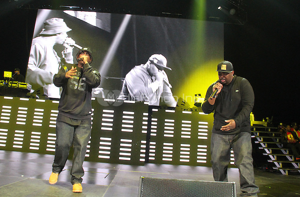 NEW YORK, NY - OCTOBER 17, 2014<br /> <br /> EPMD performs at the Def Jam 30 Anniversary Client at The Barclays Center, October 16, 2014 in New York City.<br /> <br /> <br /> <br /> &copy; Walik Goshorn / MediaPunch
