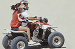 COUPLE HAVING FUN ON ATV IN MEXICO