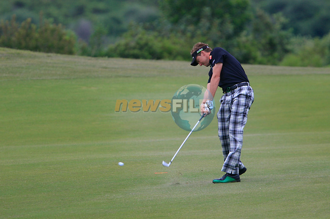 Ian Poulter (ENG) in action on the 7th hole during Day 2 of the Volvo World Match Play Championship in Finca Cortesin, Casares, Spain, 20th May 2011. (Photo Eoin Clarke/Golffile 2011)