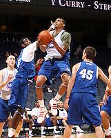 LaQuinton Ross at the NBPA Top100 camp June 18, 2010 at the John Paul Jones Arena in Charlottesville, VA. Visit www.nbpatop100.blogspot.com for more photos. (Photo © Andrew Shurtleff)