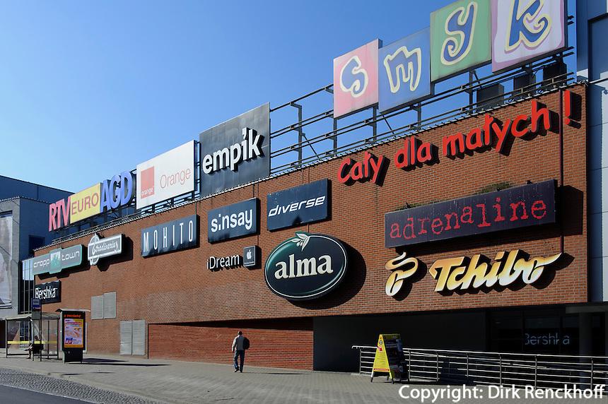 Einkaufszentrum in Olsztyn (Allenstein), Woiwodschaft Ermland-Masuren (Wojew&oacute;dztwo warmińsko-mazurskie), Polen, Europa<br /> Shopping centre  in Olsztyn , Poland, Europe