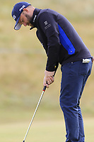 Andy Sullivan (ENG) putts on 14th green during Thursday's Round 1 of the 2018 Dubai Duty Free Irish Open, held at Ballyliffin Golf Club, Ireland. 5th July 2018.<br /> Picture: Eoin Clarke | Golffile<br /> <br /> <br /> All photos usage must carry mandatory copyright credit (&copy; Golffile | Eoin Clarke)