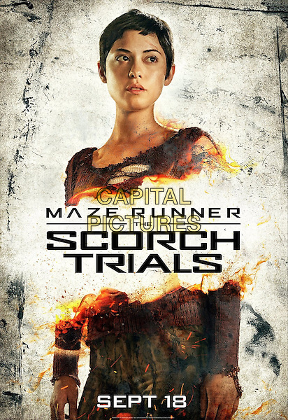 Maze Runner: The Scorch Trials (2015)<br /> POSTER ART<br /> *Filmstill - Editorial Use Only*<br /> CAP/KFS<br /> Image supplied by Capital Pictures
