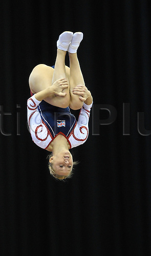 17.11.2011 Birmingham, England. Trampoline and Tumbling World Championships. Emma Smith GB