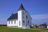 White church, Nova Scotia, Canada