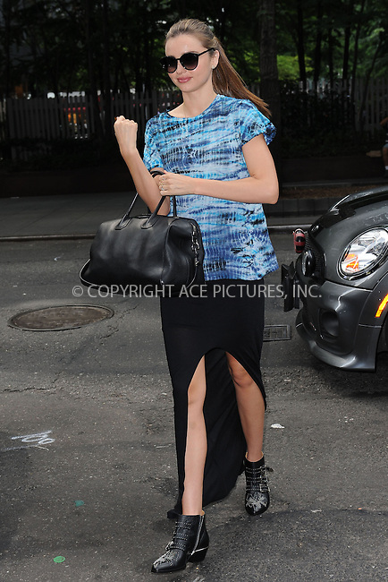WWW.ACEPIXS.COM<br /> July 9, 2013 New York City<br /> <br /> Miranda Kerr in Midtown in New York City on July 9, 2013.<br /> <br /> By Line: Kristin Callahan/ACE Pictures<br /> ACE Pictures, Inc.<br /> tel: 646 769 0430<br /> Email: info@acepixs.com<br /> www.acepixs.com<br /> Copyright:<br /> Kristin Callahan/ACE Pictures