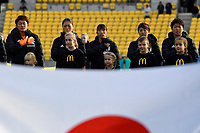 International Football - Football Ferns v Japan  at Westpac Stadium, Wellington, New Zealand on Sunday 10 June 2018.<br /> Photo by Masanori Udagawa. <br /> www.photowellington.photoshelter.com