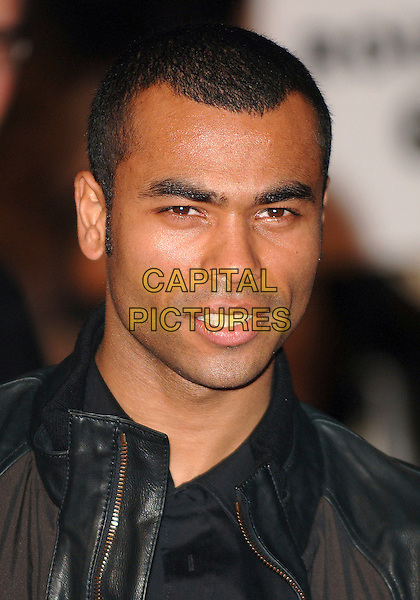"ASHLEY COLE.At the UK Film Premiere of ""Rocky Balboa"", .Vue West End, London, England,.16th January 2007..portrait headshot.CAP/ BEL.©Tom Belcher/Capital Pictures."