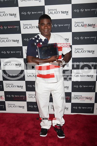 Tracy Morgan attends the Samsung Galaxy Note 10.1 Launch Event in New York City, August 15, 2012. ©Diego Corredor/MediaPunch Inc. /NortePhoto.com<br /> <br /> **CREDITO*OBLIGATORIO** *No*Venta*A*Terceros*<br /> *No*Sale*So*third* ***No*Se*Permite*Hacer*Archivo***No*Sale*So*third*