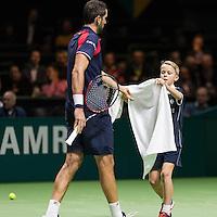 ABN AMRO World Tennis Tournament, Rotterdam, The Netherlands, 14 februari, 2017, Benoit Paire (FRA)<br /> Photo: Henk Koster