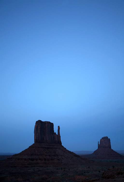 Monument Valley at dusk © Carli Davidson