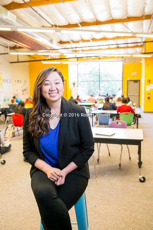 Portrait of Lizzie Choi - Director - Summit Basecamp