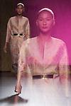 01.09.2012. Models walk the runway in the Juan Duyos fashion show during the Mercedes-Benz Fashion Week Madrid Spring/Summer 2013 at Ifema. (Alterphotos/Marta Gonzalez)