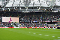 Bobby Moore during West Ham United vs Burnley, Premier League Football at The London Stadium on 10th March 2018
