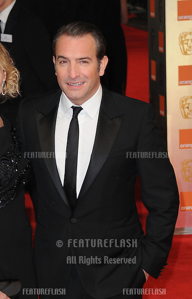 Jean Dujardin attends the Orange British Academy Film Awards 2012..February 12, 2012, London, UK.Picture: Catchlight Media / Featureflash
