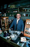 December 1976. Americus, Georgia. Owner of a pawn and jewelry shop in Americus.
