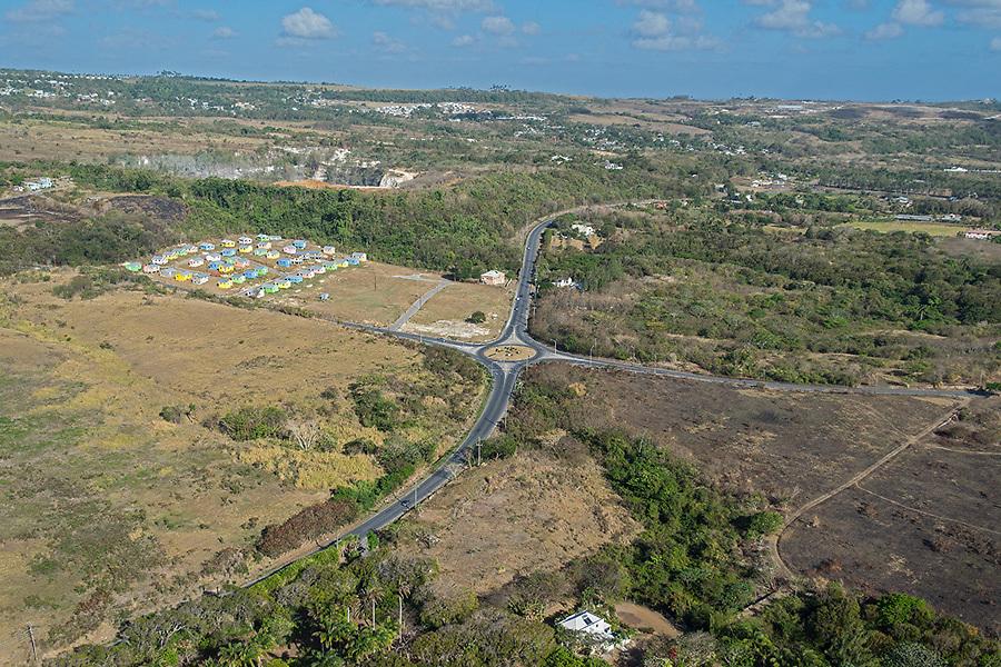 Orange Hill roundabout, St. James, Barbados