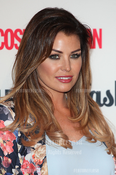 Jessica Wright arriving for the Cosmopolitan Fashfest, at Battersea Evolution, London. 18/09/2014 Picture by: Alexandra Glen / Featureflash