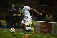 Jerome Binnom-williams of England C and Chesterfield during England C vs Estonia Under-23, International Friendly Match Football at The Breyer Group Stadium on 10th October 2018