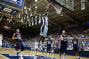 November 28, 2008. Durham, NC.. Duke vs. Duquesne at Cameron Indoor Stadium..Lance Thomas, #42 at center, had 21 points and 6 rebounds in a good showing for the 6th man in the 95-72 Duke victory.