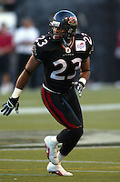 Serge Sejour Ottawa Renegades 2003. Photo Scott Grant