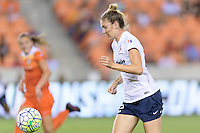 Houston, TX - Thursday Aug. 18, 2016: Alyssa Kleiner during a regular season National Women's Soccer League (NWSL) match between the Houston Dash and the Washington Spirit at BBVA Compass Stadium.