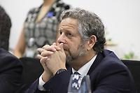 SÃO PAULO, SP, 01.11.2019 - POLITICA-SP - Adolfo Rubinstein, Ministro da Saúde da Argentina, participa da XLV Reunião de Ministros da Saúde dos Estados Partes e Associados do Mercosul, no Instituto Butanta em São Paulo, nesta sexta-feira, 1. (Foto Charles Sholl/Brazil Photo Press)