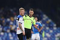 Referee Pietro Giacomelli<br /> Napoli 30-10-2019 Stadio San Paolo <br /> Football Serie A 2019/2020 <br /> SSC Napoli - Atalanta BC<br /> Photo Cesare Purini / Insidefoto